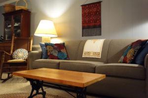 Living Room in A Cozy B&B